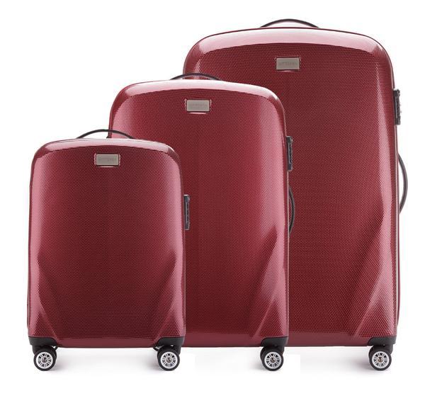 Zestaw walizek z policarbonu